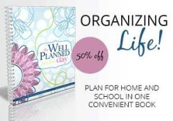 Get a Well-Planned Day Planner for 50% off!
