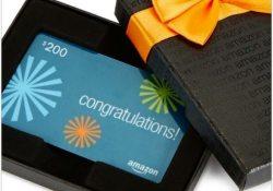 Giveaway: $200 Amazon Gift Card