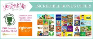 The Cool Bonuses You Get with the Ultimate Homemaking Bundle