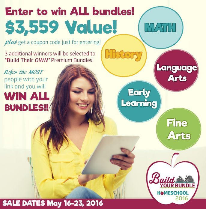 Enter to Win $3,559 in Curriculum with the Build Your Bundle Giveaway