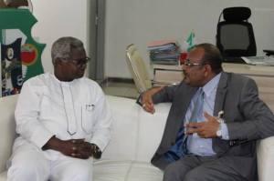 DG VON and The Sudanese Ambassador