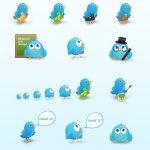 Birdies icones twitter