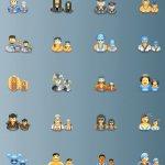 Icônes utilisateurs