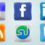 Furry Cushions Social Icones gratuites