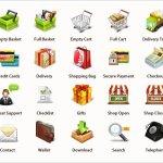 Professional E-Commerce Icons Set