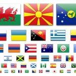 icones drapeaux du monde