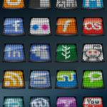 oled icones gratuites sociales