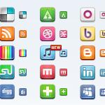 social media icone gratuite