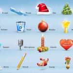 noel pack icones gratuites