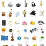 Stock icones