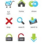 e-commerce icones gratuites