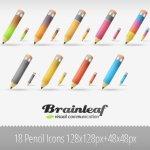 icones crayon