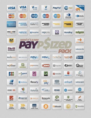 Boutons paiements en ligne