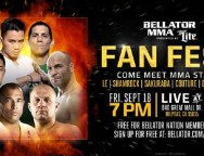 MMA Legends to Attend Bellator Fan Fest