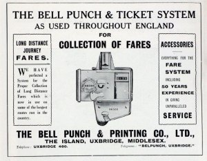 The Bell Punch & Ticket System - Courtesy of Grace's Guide