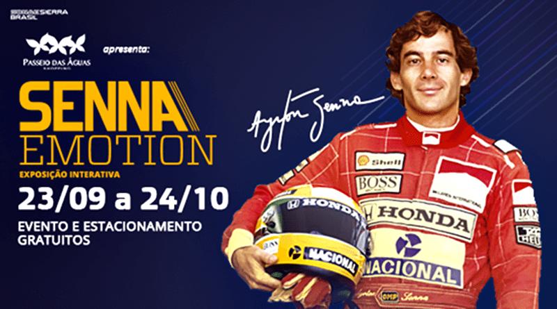 Exposição inédita de Ayrton Senna em Goiânia