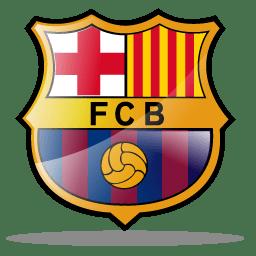 barcelona fc logo icon