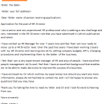 Art Director Cover Letter Example - icover.org.uk