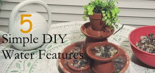 5 Simple DIY Water Features