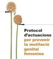 Portada del protocol per prevenir les mutilacions