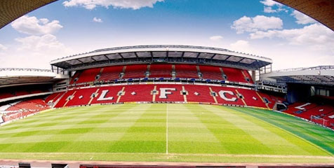 Stadion Anfield markas Liverpool