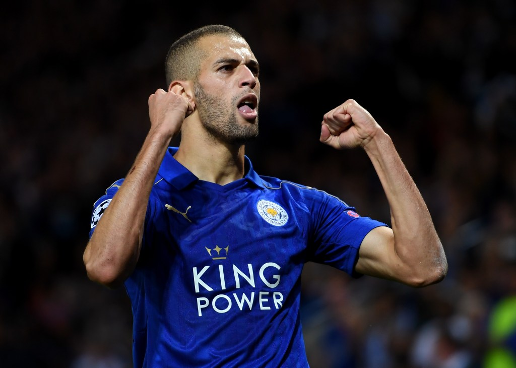 Slimani, Leicester City