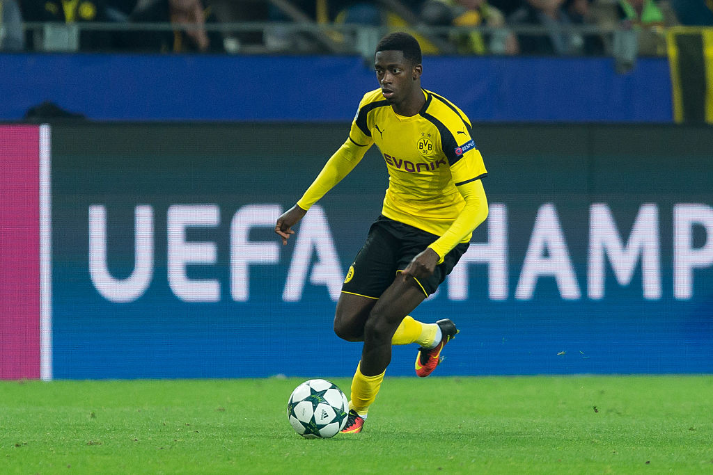 Dortmund, Germany 27.09.2016, UEFA Champions League - 2016/17 Season, Group F - Matchday 2, BV Borussia Dortmund - Real Madrid, 2:2,  Ousmane Dembele (BVB)   (Photo by TF-Images/Getty Images)