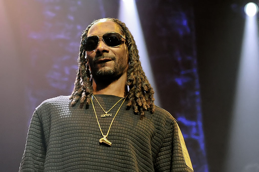 Calvin Cordozar Broadus, Jr. known as Snoop Dogg performs in concert at ACL Live at Moody Theater on October 23, 2015 in Austin, Texas. (Photo by Manuel Nauta/NurPhoto) (Photo by NurPhoto/NurPhoto via Getty Images)