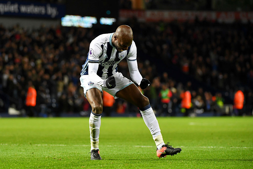 during the Premier League match between West Bromwich Albion and Watford at The Hawthorns on December 3, 2016 in West Bromwich, England.