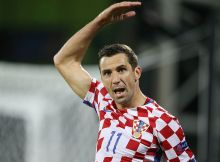 Darijo Srna of Croatia angry during the UEFA Euro 2016 round of 16 match between Croatia and Portugal on June 25, 2016 at the stade Bollaert-Delelis in Lens, France.(Photo by VI Images via Getty Images)
