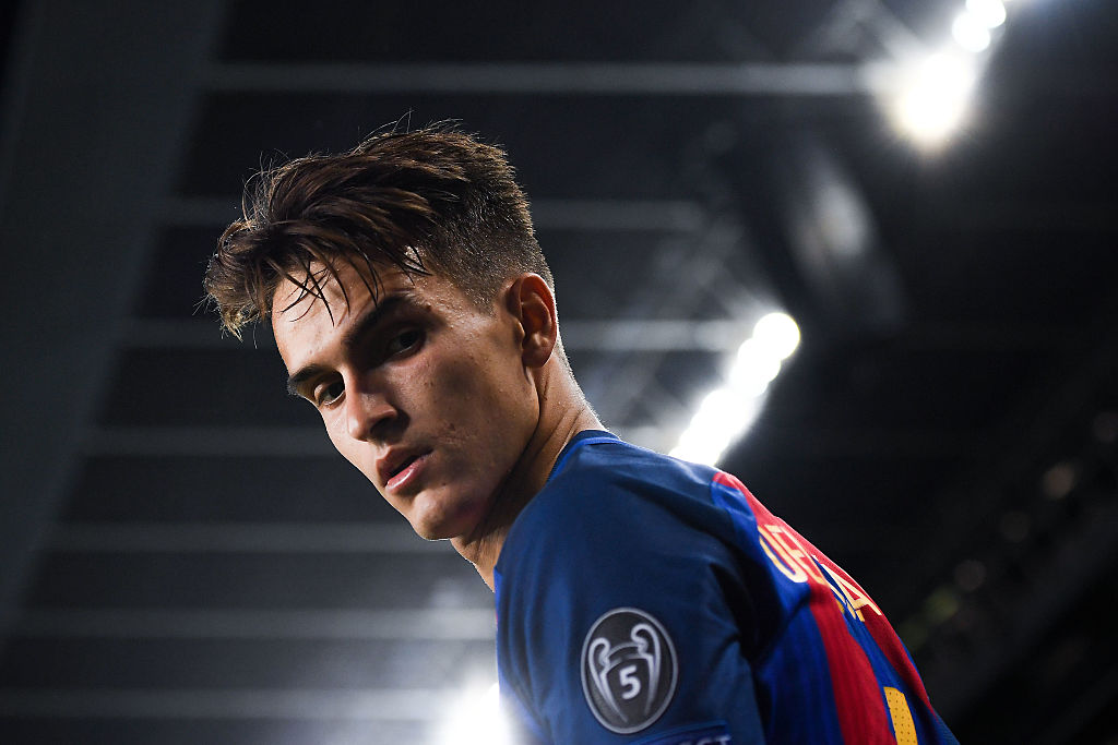 BARCELONA, SPAIN - DECEMBER 06:  Denis Suarez of FC Barcelona looks on during the UEFA Champions League match between FC Barcelona and VfL Borussia Moenchengladbach at Camp Nou on December 6, 2016 in Barcelona, .  (Photo by David Ramos/Getty Images)
