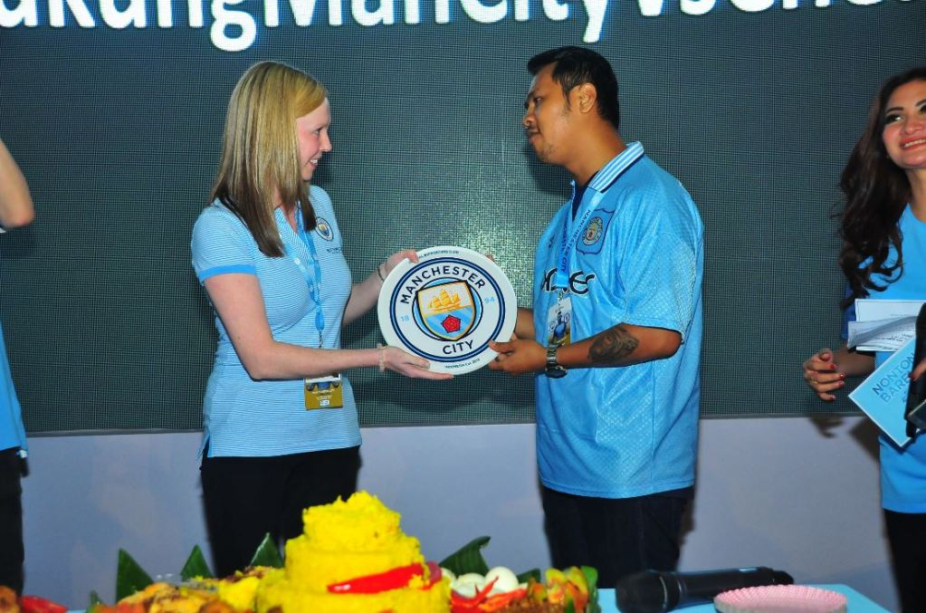 Manchester City, Jiwasraya, Indonesia