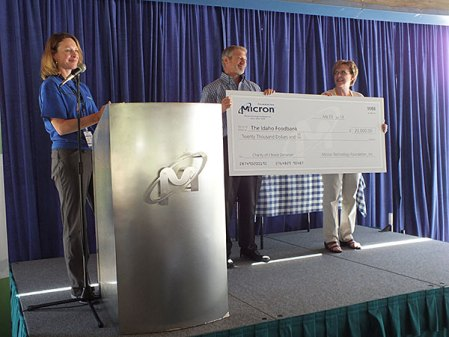 Micron Charity of Choice Award