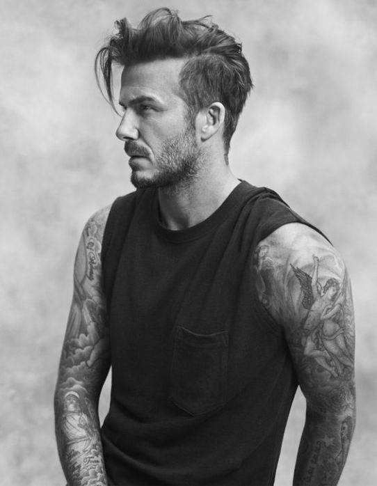 David Beckham Tatoo Collection