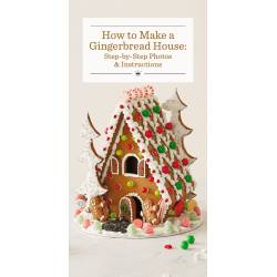 Incredible How To Make A Gingerbread House Step By Step Photos Instructions Gingerbread House Ideas Pinterest Gingerbread House Ideas Martha Stewart