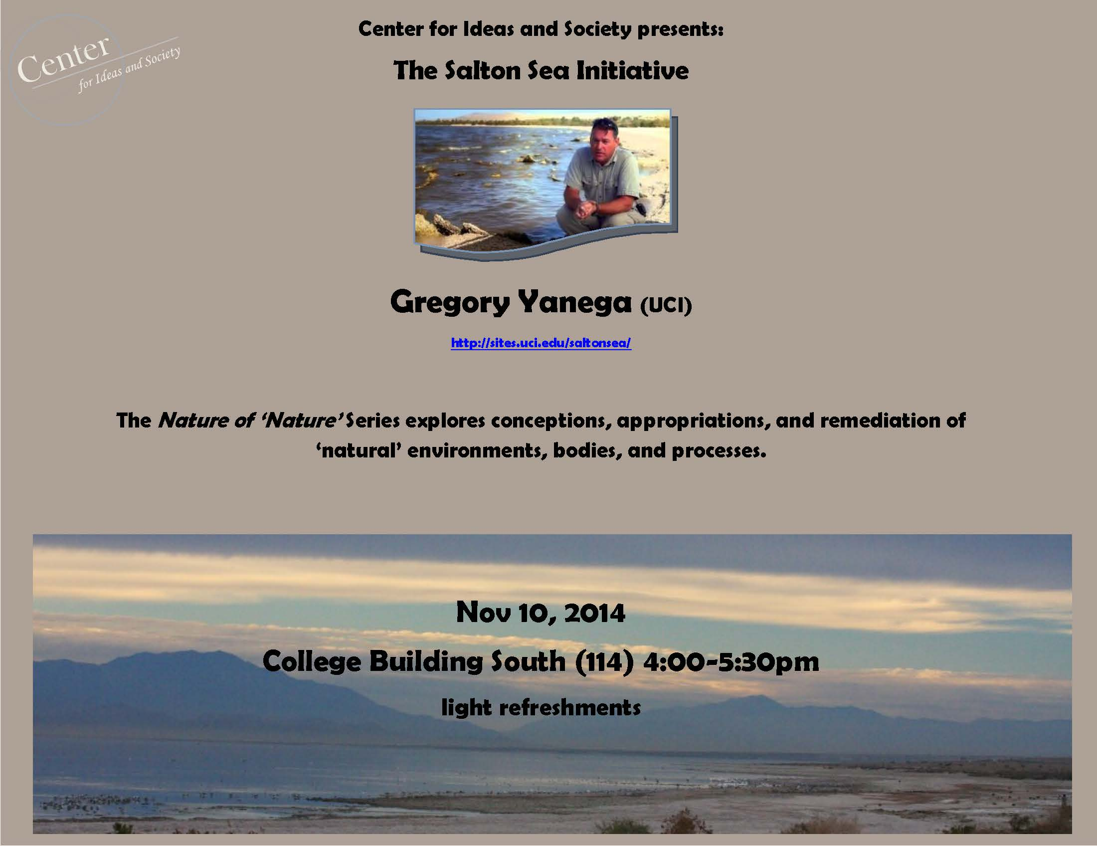 Gregory Yanega Salton Sea 11-10 Flyer