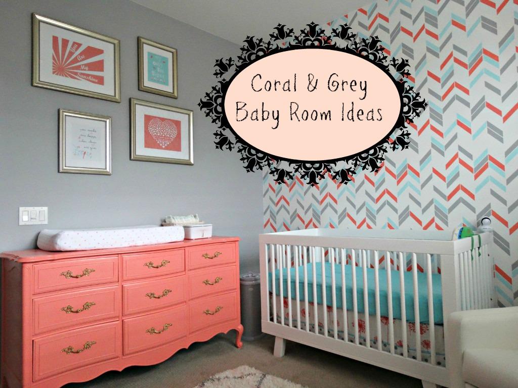 Smothery Pink Baby Girl Room Nursery Idea Coral Grey Baby Room Ideas Baby Girl Room Ideas Butterflies Baby Girl Room Ideas On A Budget Grey baby Baby Girl Room Ideas