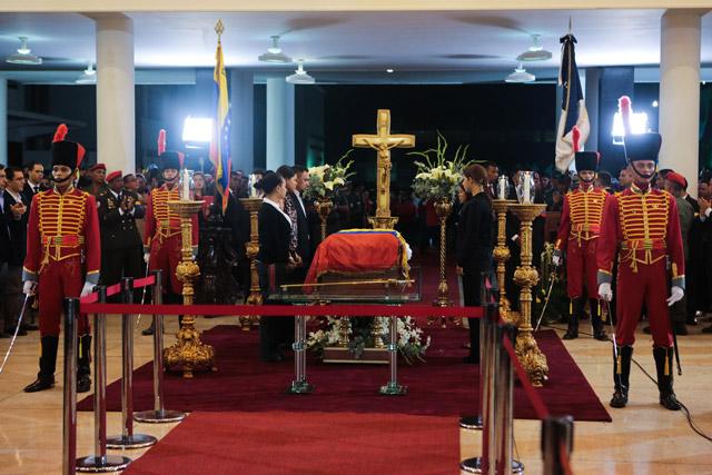Funerales de Chávez 1