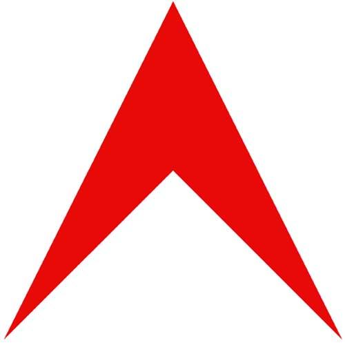 Sports brand logos red arrow