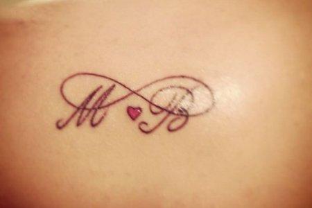 2 infinity tattoo ideas