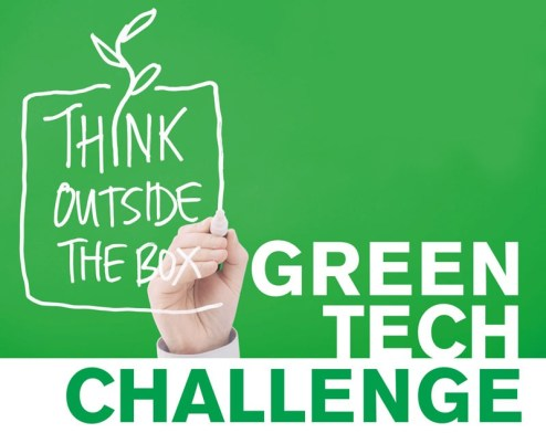 Logo Green Tech Challenge 2013 bei ideenwettbewerbe.com