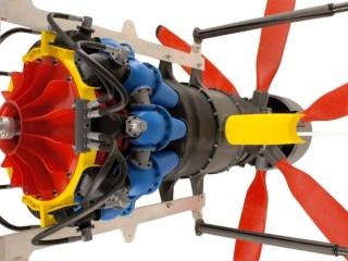 Extreme Redesign 2014 Beispiel Stratasys Turbine 3D Druck