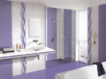 7 colectii de modele de gresie si faianta pentru baie