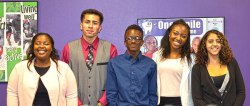 courtesy photo/boys and girls club</p> <p>Youth of the Year Ambassadors from left, Chyna Phillips, Kevin Ponce, Shane Johnson, Makayla Pennix and Kamryn Coleson.