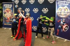 iecn photo/yazmin alvarez&lt;br /&gt;&lt;br /&gt;<br /> Boys and Girls Clubs of Greater Redlands-Riverside were treated to a special event before watching Marvel Universe Live!