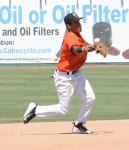 Photo/Richard Dawson Second baseman Andrew Daniel finished 3-for-4 and scored twice in the loss.  