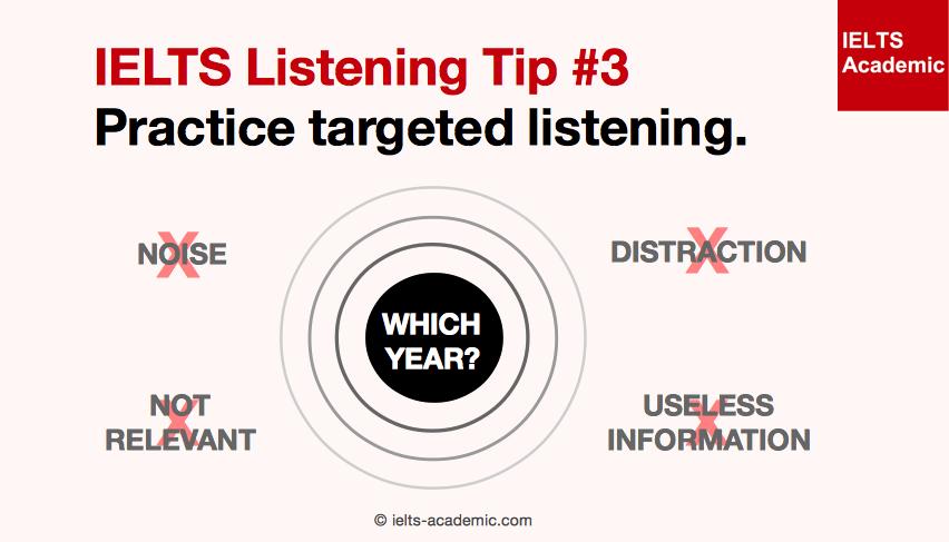 IELTS Listening Tip 3