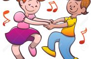 47651523-Cute-couple-of-nice-kids-while-smiling-holding-hands-tenderly-dancing-salsa-energetically-and-having-Stock-Vector