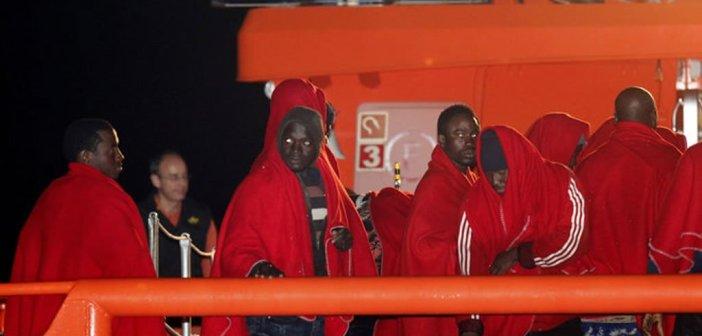 Прибывшие мигранты
