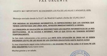 Мадрид приказал выключить компьютеры и доступ к Интернету из-за мировой кибератаки